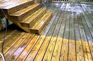 Soft House Washing Concrete Cleaning Clifton Park Ny Deck